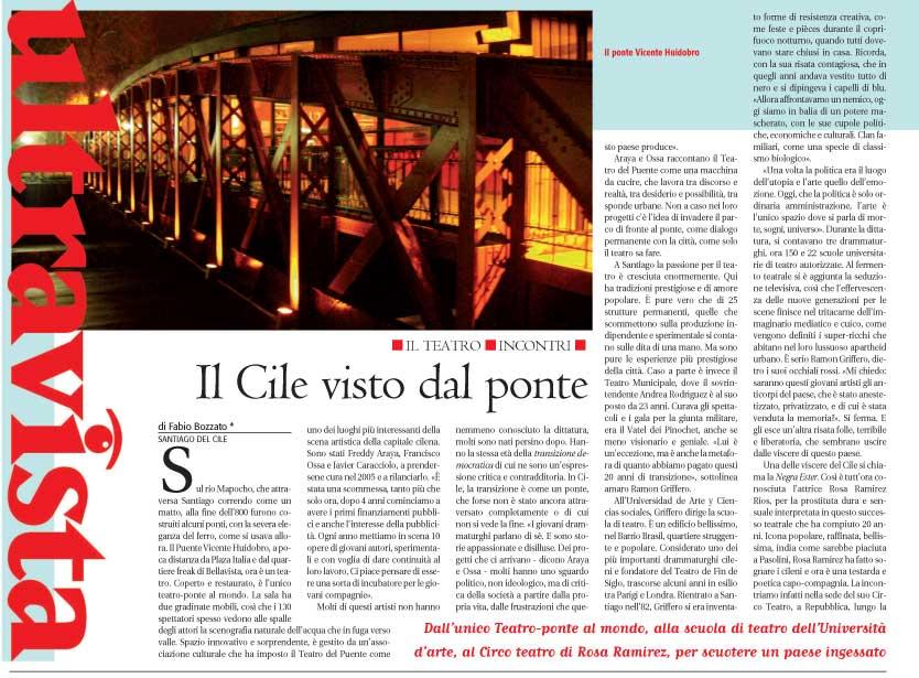Prensa Italiana - Alias - sábado 9 enero, 2010