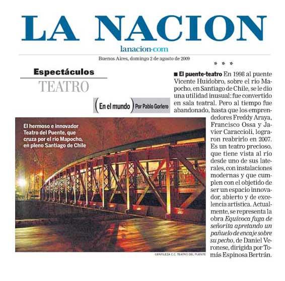 Prensa Argentina - La Nación - domingo 2 agosto, 2009