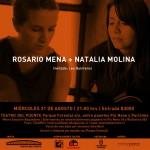 Rosario Mena y Natalia Molina