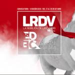 Convocatoria X edición LRDV - EDEC 2020