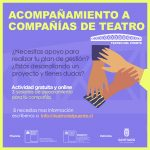 Programa de Acompañamiento a Compañías de Teatro