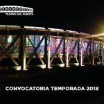 CONVOCATORIA 2018 TEATRO DEL PUENTE